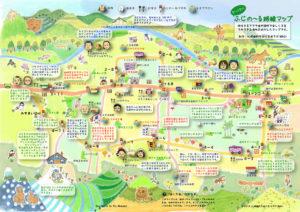 ふじの~る路線マップ