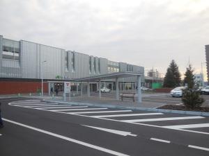 JR野幌駅北口の外観