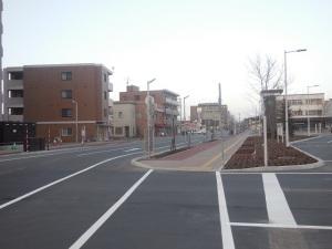旧野幌駅バスのりば(JHB)