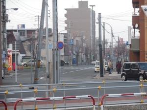 野幌駅バスのりば(中央)