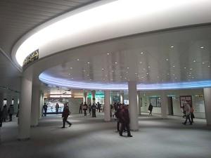 大通駅の中心部