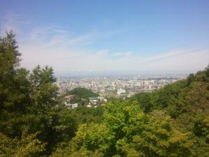 大倉山からの眺望