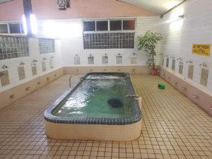 滝の湯のお風呂