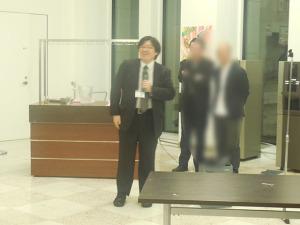 吉田樹先生の写真