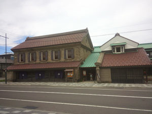 重要文化財 旧商家丸一本間家。