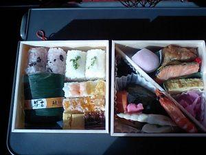 「客室乗務員オリジナル弁当」の写真