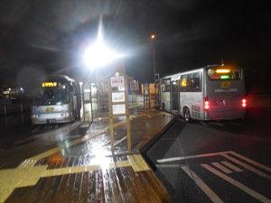 せせらぎバスセンターの様子