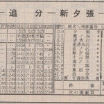 昭和62年4月(JR発足時)の時刻表